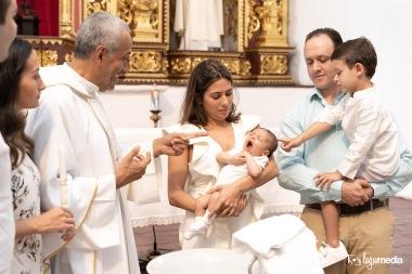 fotografo bautizo iglesia la merced